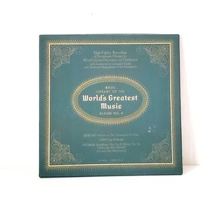 Vintage 50s World's Greatest Music Album NO. 4